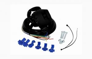 Резетка с проводами 7 контактная с проводом 1,9 м.