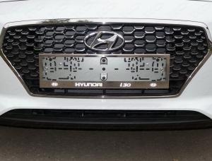 Рамки номерного знака Hyundai