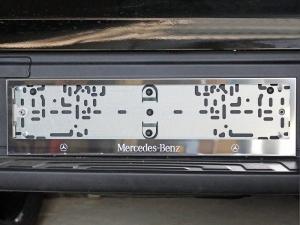 Рамки номерного знака Mercedes