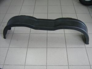 Крыло пластиковое тандем черное R13