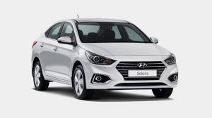 Hyundai Solaris II седан 2017-2020